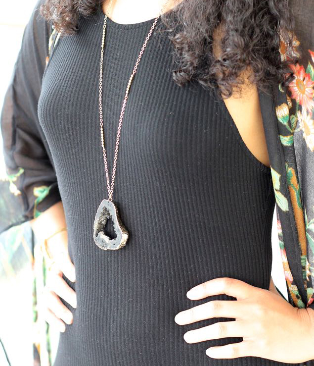 Druzy Necklaces 2