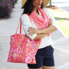 Vibrant Beach Accessories + Vera Bradley