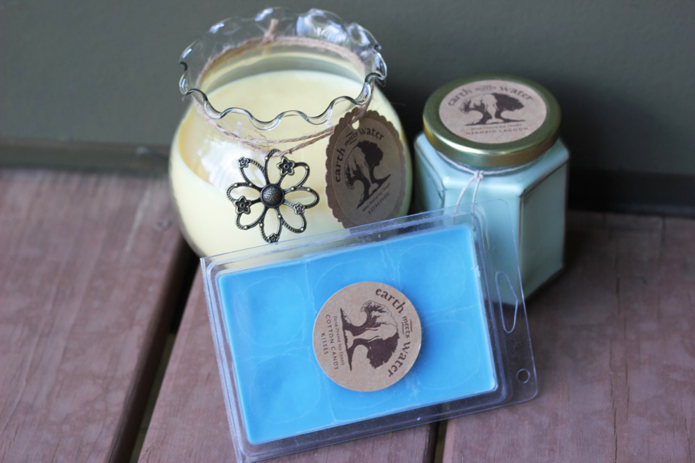 hand poured soy candles 1
