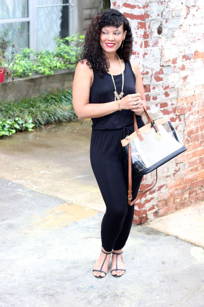 Basic Black Jumpsuits 3
