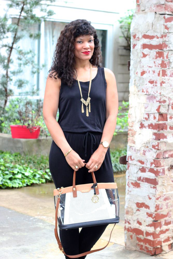 Basic Black Jumpsuits + Funky Flair Boutique