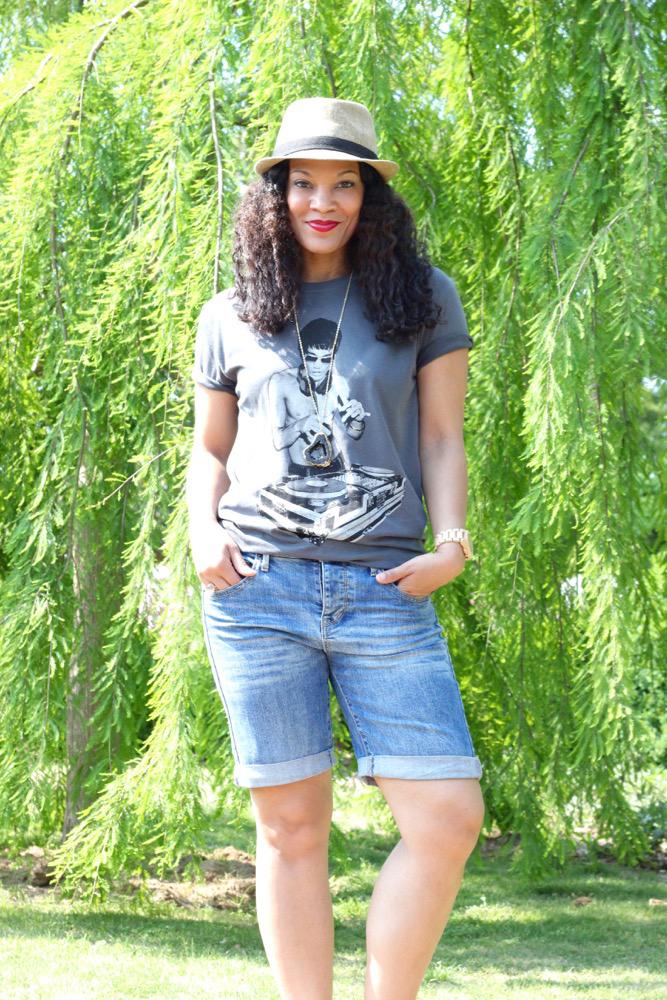 Bruce Lee DJ T-Shirt + Casual Weekend Wear