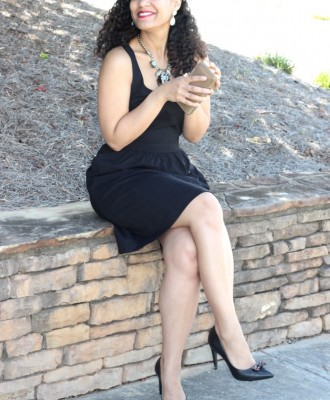 Classic Little Black Dresses + Chasse Chic Shoes