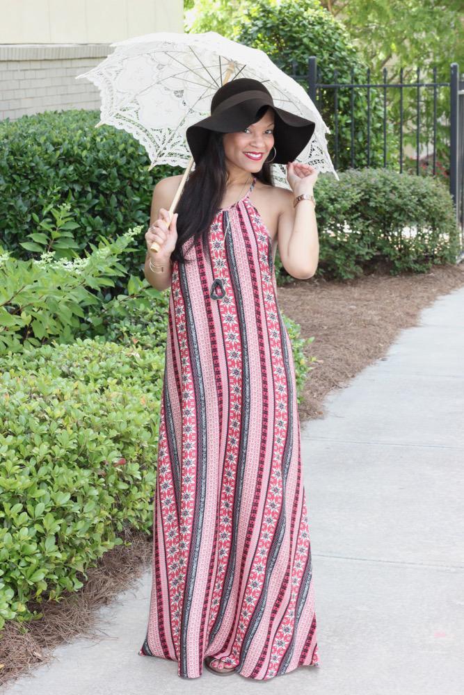 Bohemian Halter Dresses 1