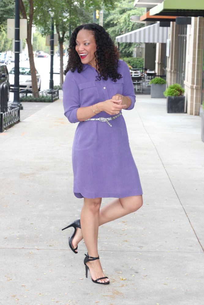 Silk Shirt Dresses 4