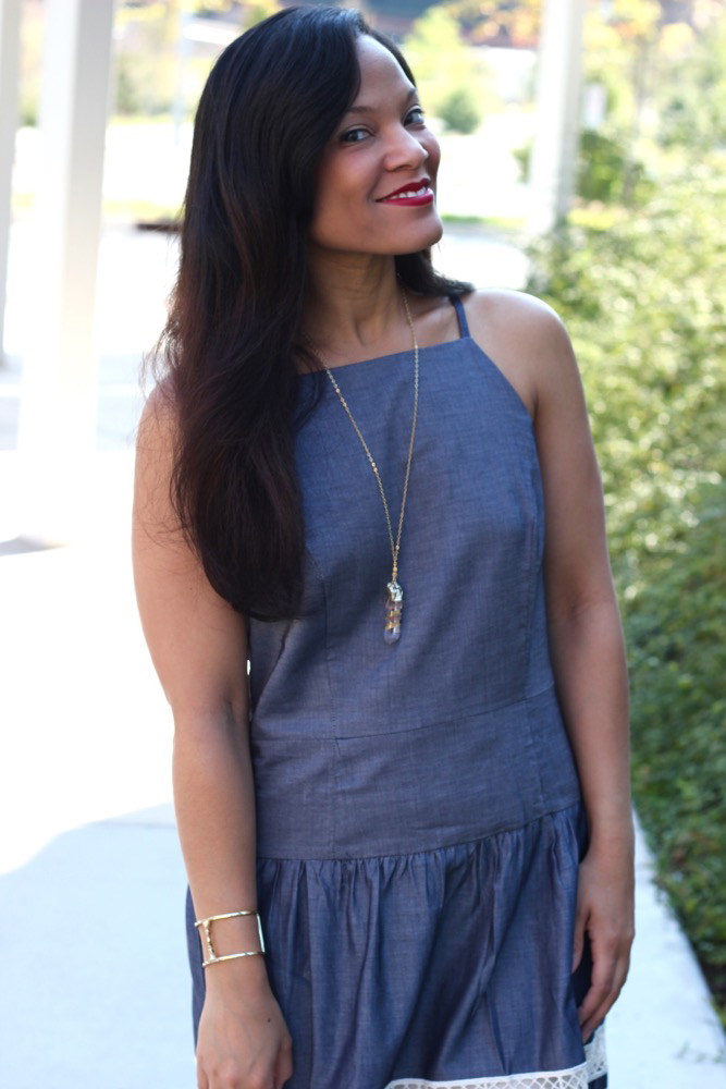 Ways to Style a Dress that is Too Big