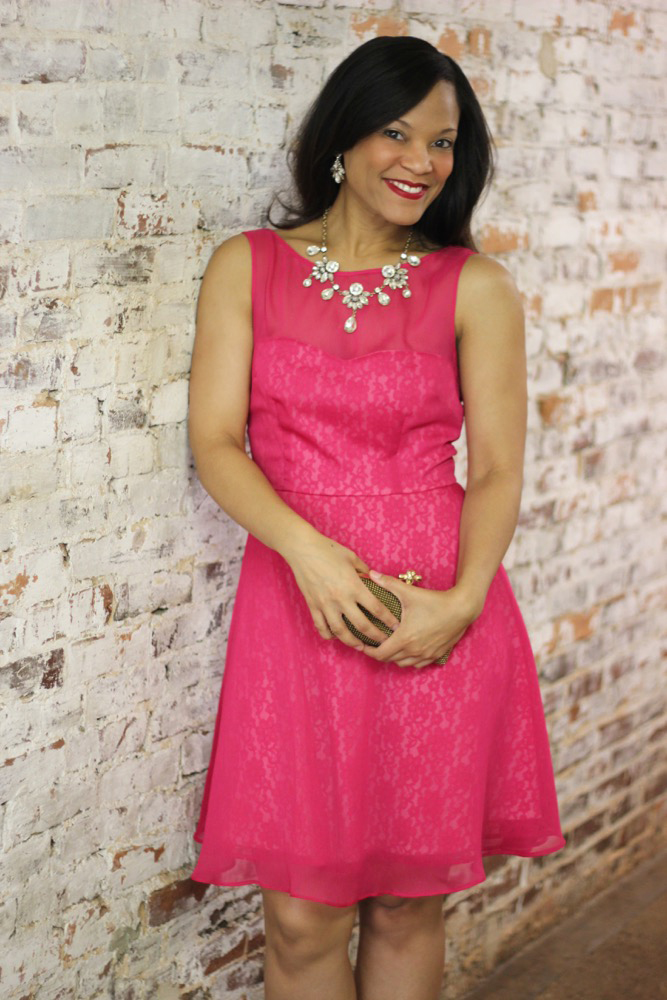 Perfect Dress for a Wedding Guest + Betsey Johnson