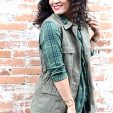 Ways to Wear Plaid This Fall + J. Jill