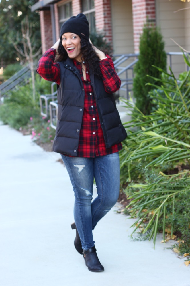 Easy Ways to Wear a Puffer Vest 3