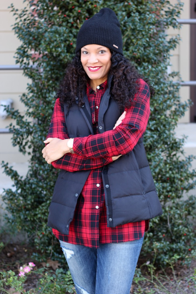 Easy Ways to Wear a Puffer Vest 6
