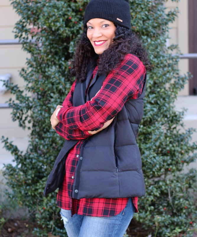 Easy Ways to Wear a Puffer Vest + J. Jill
