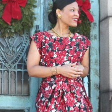 Floral Dresses + Have a Happy Holiday!