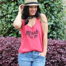Mash It Up Patois T-Shirt + StushiGal Style