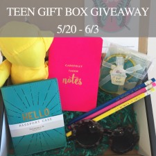 $50 Jus Between Us Teen Gift Box Giveaway!