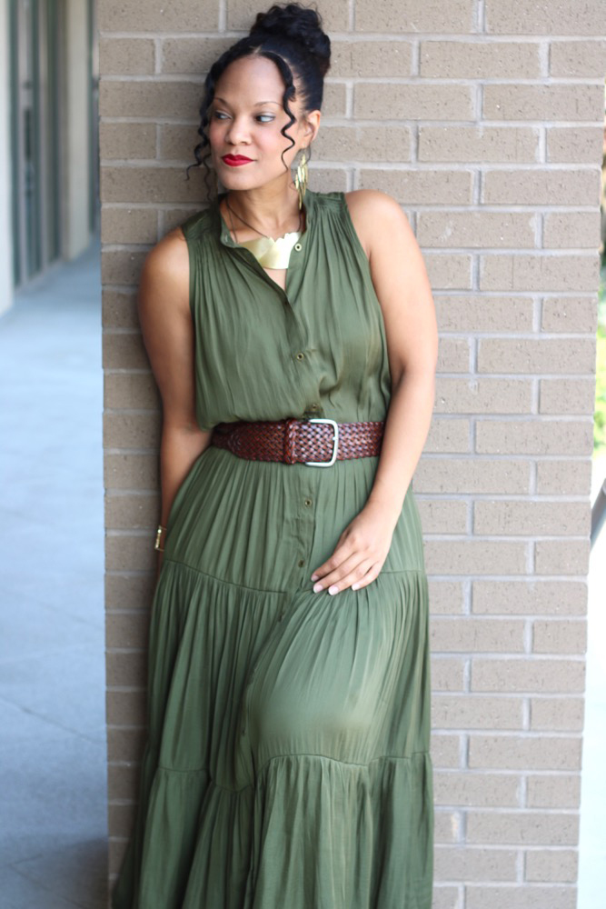 Tiered Maxi Dresses For Summer Stushigal Style