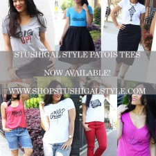 StushiGal Style Patois Tees Now Available!