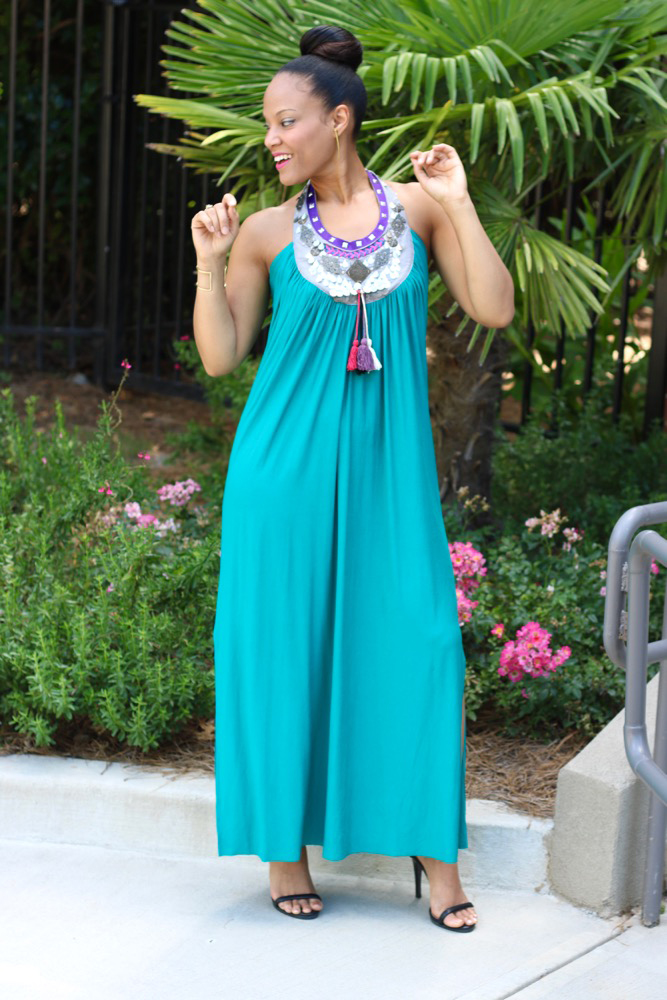 Embellished Maxi Dresses