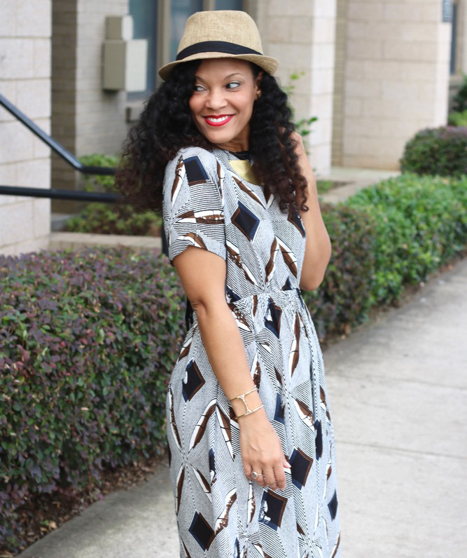 Perfect Weekend Dress with a Fabulous Print