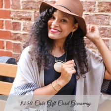 $250 Cabi Gift Card Giveaway!