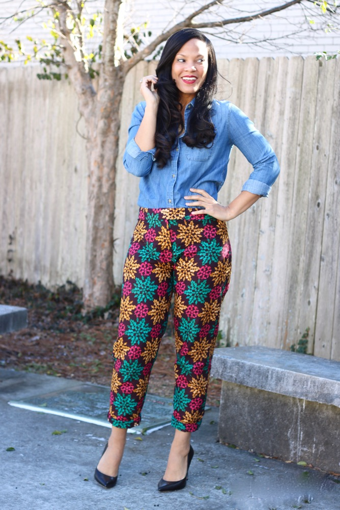 Ways to Style Cigarette Pants