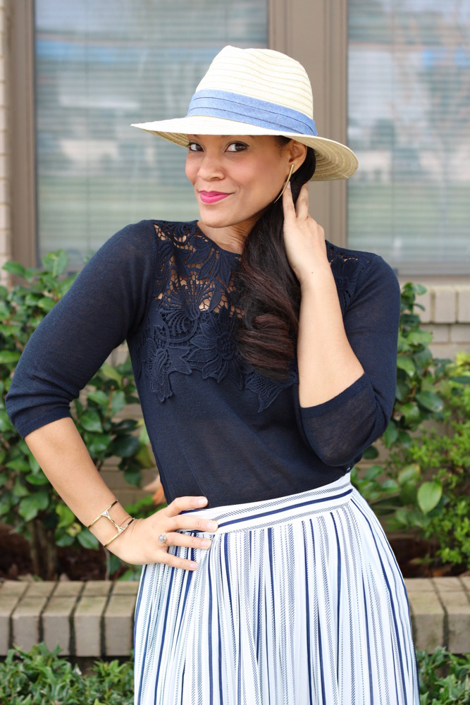 Lace Appliqué Tops for Spring
