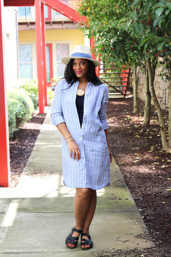 Linen Shirt Dresses That Make Perfect Cover-Ups
