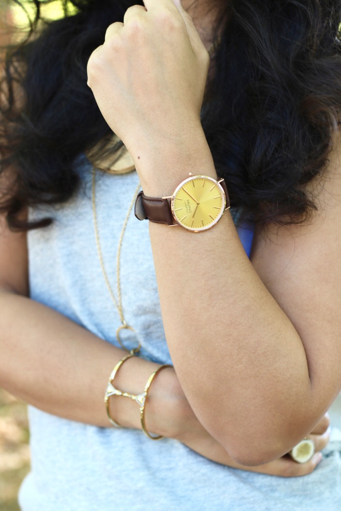 Dress Up Casual Outfits With A Trendy Watch