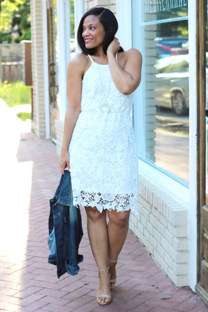 White Lace Dresses for Summer