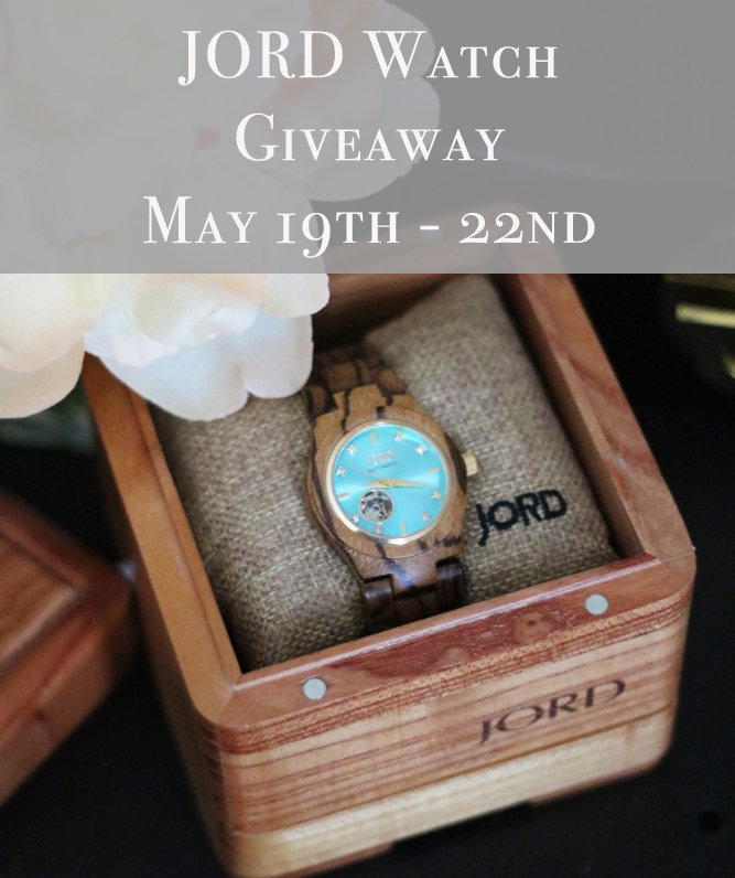 JORD Watch Giveaway – Just in Time for Father's Day!