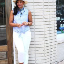 Yacht Worthy Nautical Outfits + J. Jill