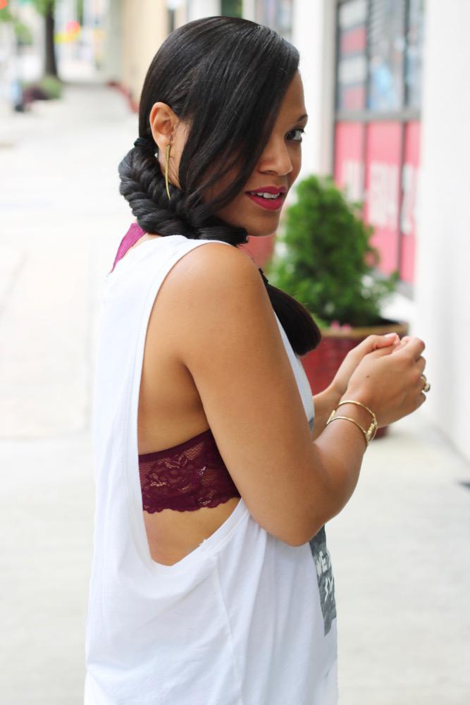 Modest Ways to Wear A Bralette