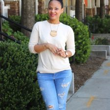 Transition Into Fall with a Pullover + J. Jill
