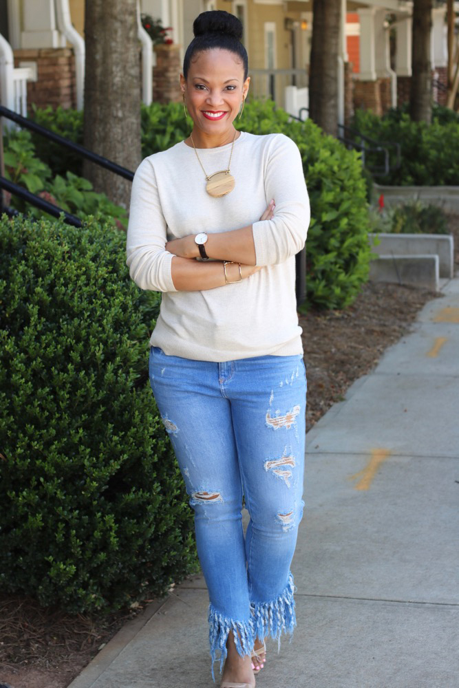 Transition Into Fall with a Pullover