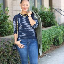 Transition Into Fall with a Lightweight Jacket + cabi