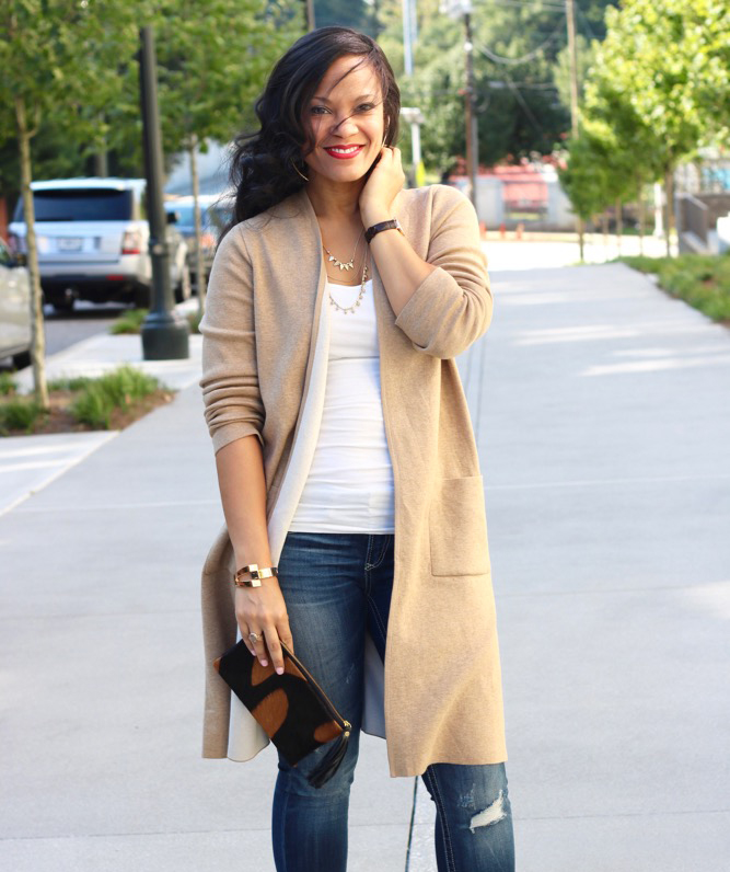 Long Cardigans Make it Easy to Transition into Fall + J. Jill