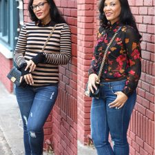 2 Ways to Wear: Catherine Blouse + cabi