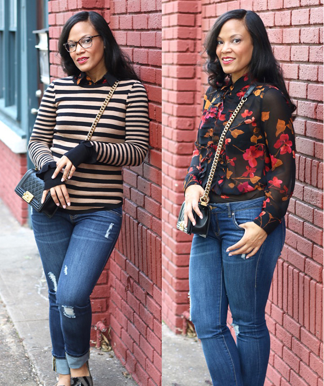 be5d1606fc2e7 2 Ways to Wear  Catherine Blouse + cabi - StushiGal Style