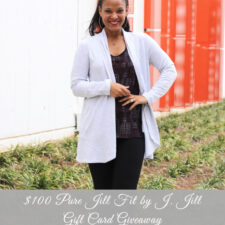 $100 Pure Jill Fit by J. Jill Gift Card Giveaway