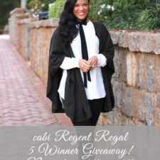 cabi Regent Regal Giveaway (5 WINNERS!)