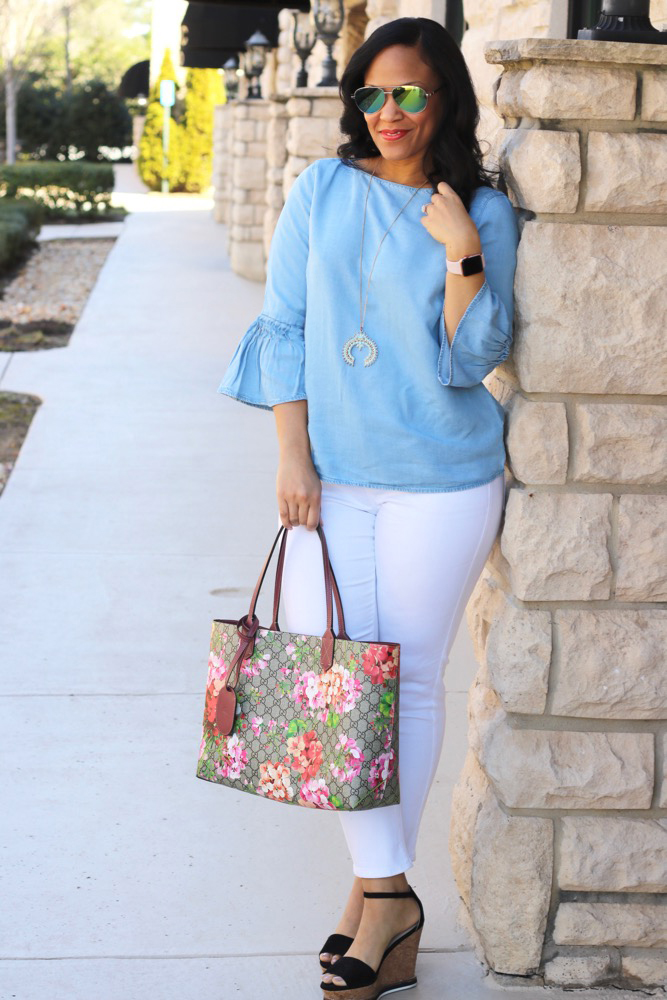 Bell Sleeve Tops for Spring