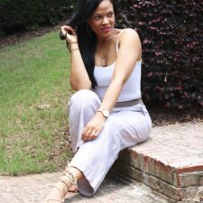 How to Slim Down a Pair of Linen Pants + J. Jill